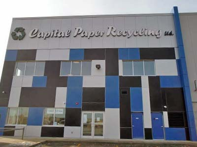 Capital Paper - Edmonton Recycling Facility